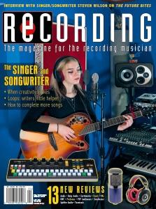 RECORDING Magazine Cover April 2021
