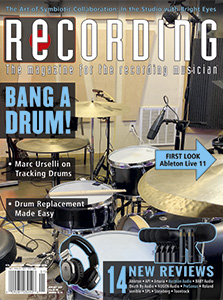 RECORDING Magazine Cover January 2021