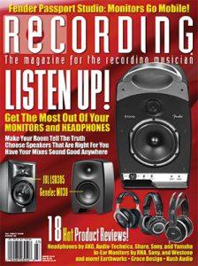 RECORDING Magazine Cover March 2014
