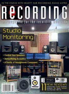 RECORDING Magazine Cover March 2021