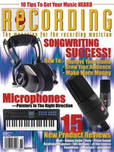 RECORDING Magazine Cover November 2014