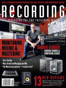 RECORDING Magazine Cover September 2021