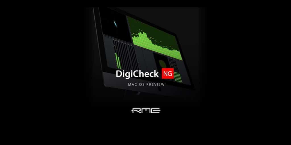 RME DigiCheck NG MAC OS Preview