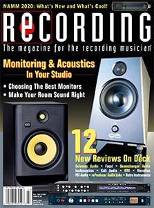 Recording Magazine Cover March 2020