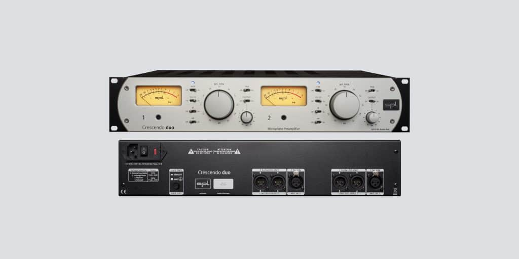 SPL Crescendo duo 2-Channel Microphone Preamplifier