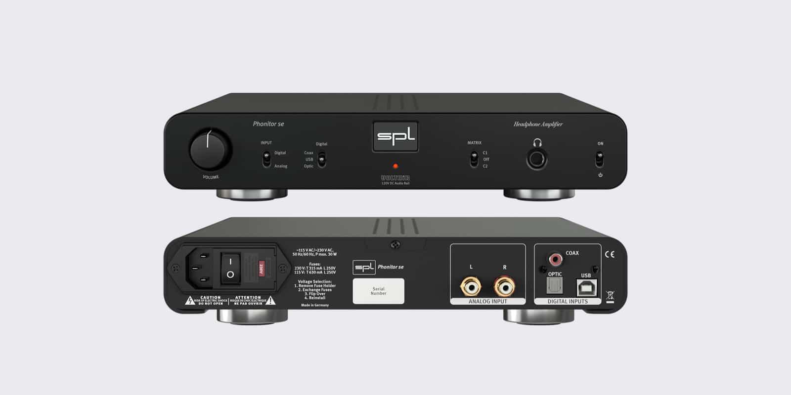SPL Phonitor se Headphone Amp
