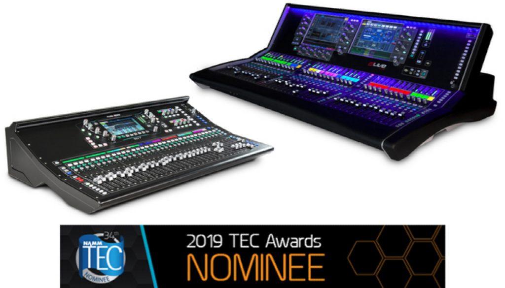 Allen Heath Receives Two 2019 TEC Awards Nominations