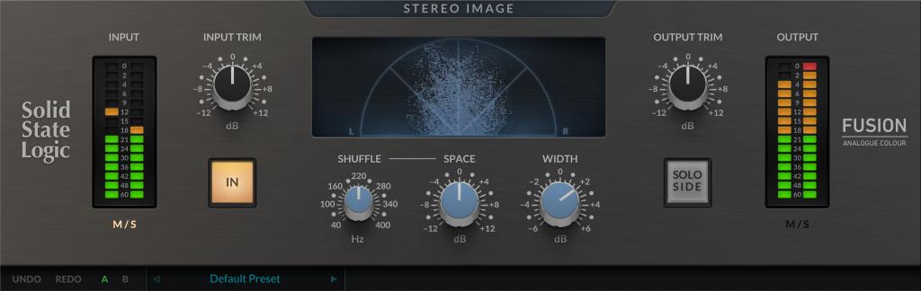 SSL Fusion Stereo Image Plug-in