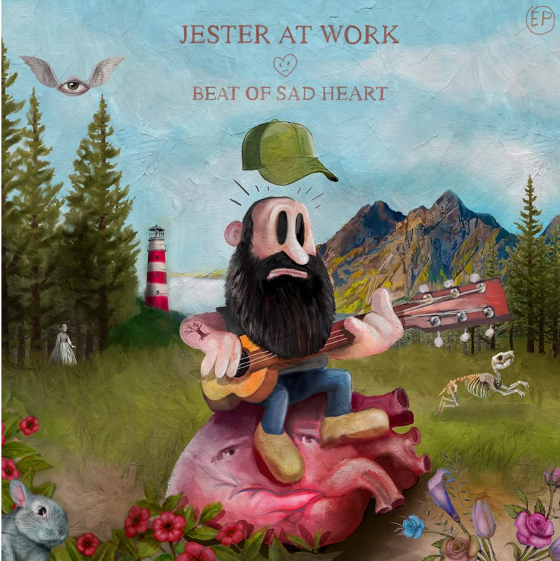 Jester at Work: Beat of Sad Heart Album Art