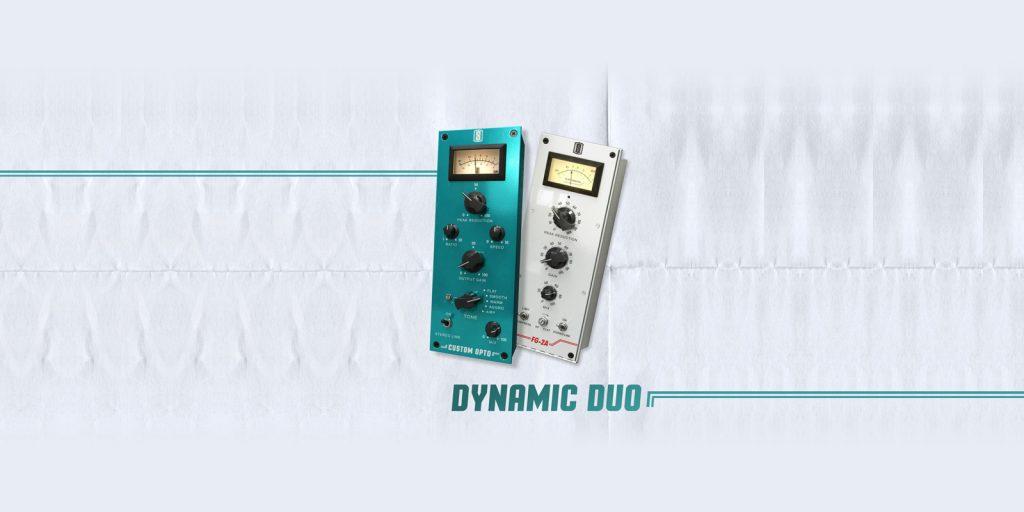 Slate Digital Dynamic Duo FG- 2A and Custom Opto