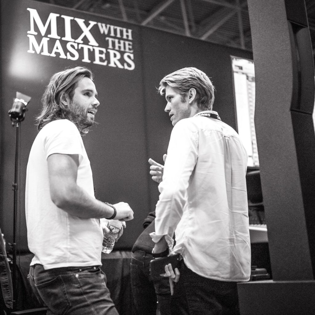 Mix with the Masters' Maxime Le Guil and Victor Lévy-Lasne