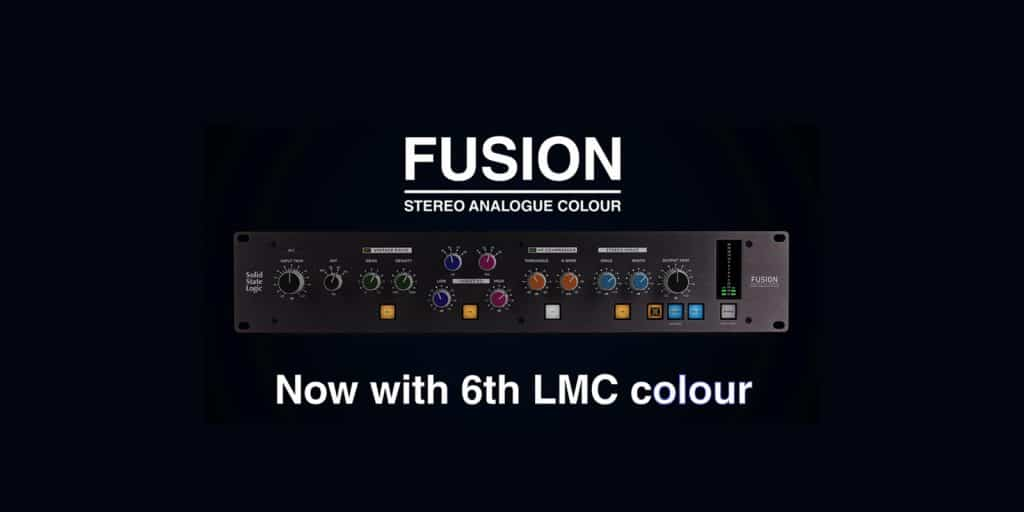 FUSION STEREO ANALOGUE COLOUR: Now with 6th LMC colour