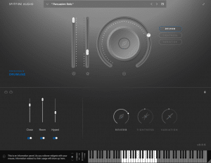 Spitfire Audio Originals Drumline Screenshot