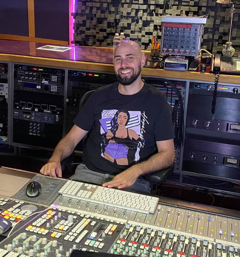 CRAS graduate Steve Kovacs in Pressure Point Studios (Chicago)