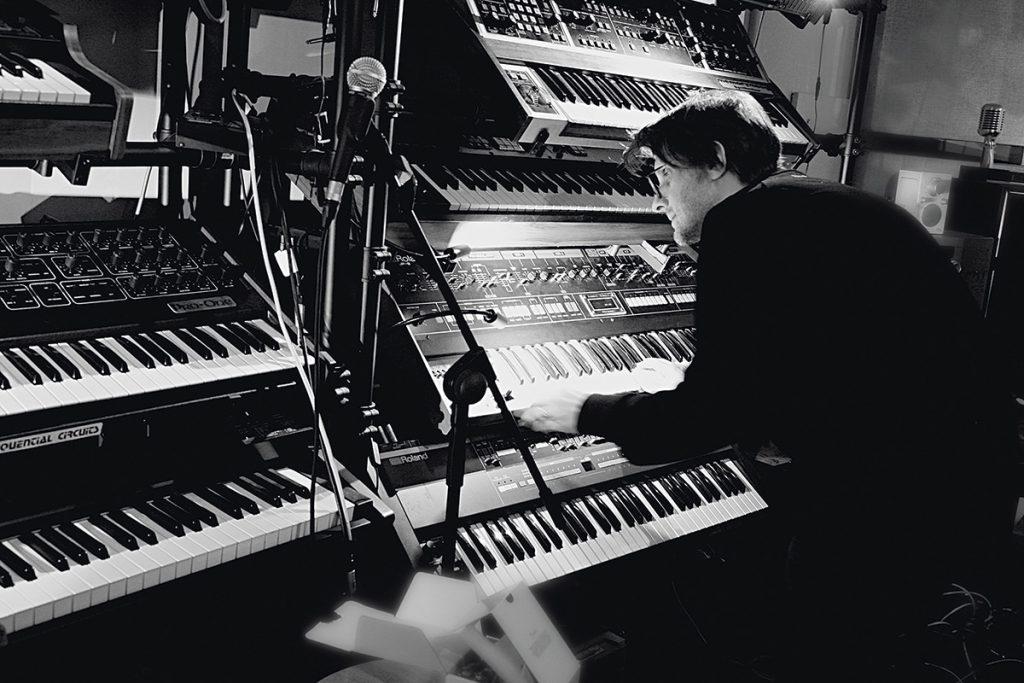 Steve Wilson at the keys