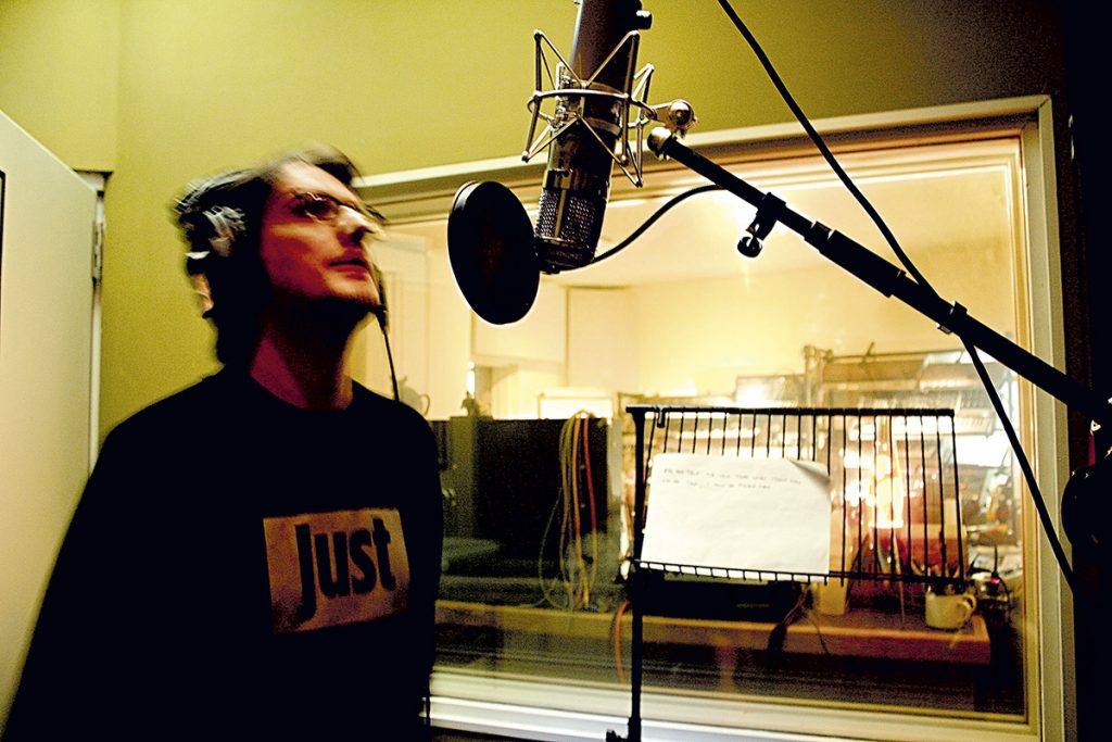 Steve Wilson singing