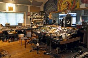 Studio - Mixing console