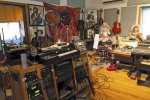 Studio - wide angle