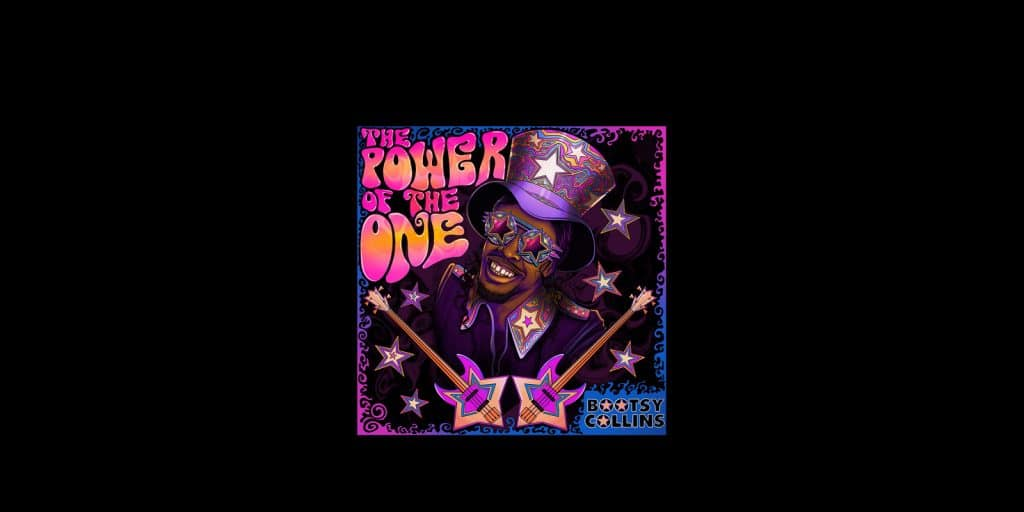 Boosty Collins: The Power Of The One album cover