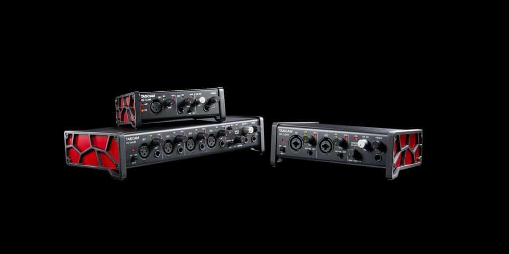 TASCAM US-HR Series High Resolution USB Audio Interfaces
