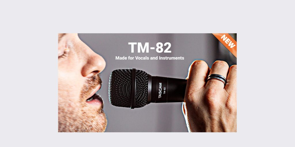TASCAM TM-82 Dynamic Microphone