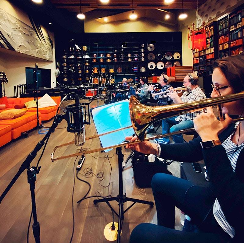 Vanguard V4 miking horns