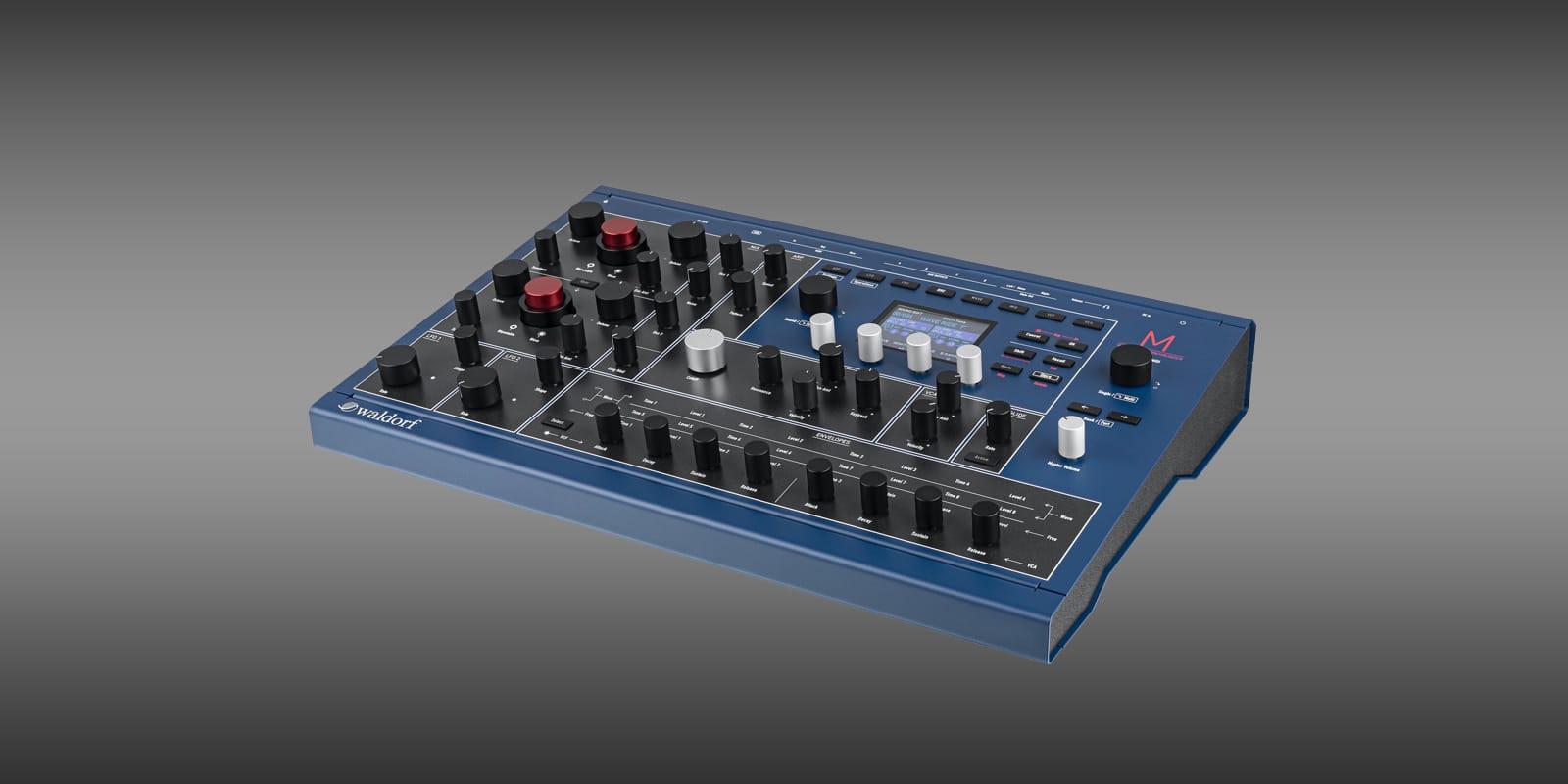 Waldorf new generation M wavetable synthesizer