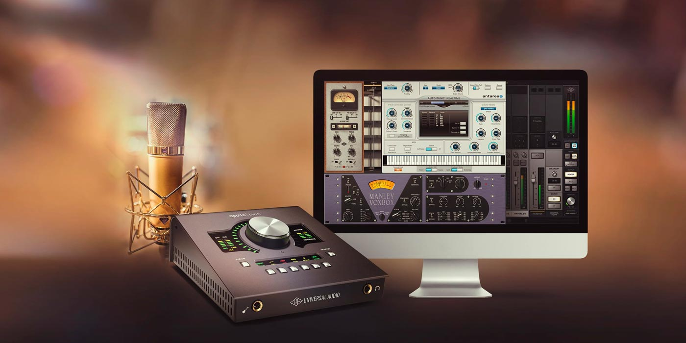 Buy an Apollo Twin, Get Auto-Tune, Manley and UA Plug‑Ins Free