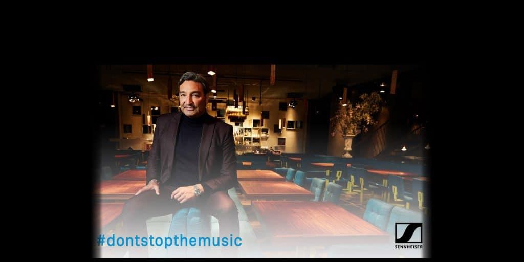 Sennheiser-don't stop the music