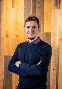 Alexey Lukin; photo by James Saulsky