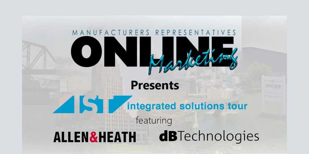Six City Online Marketing Tour to Feature dBTechnologies, Allen and Heath