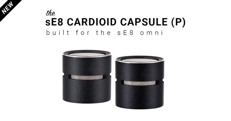 sE8 Cardioid Capsule (P)