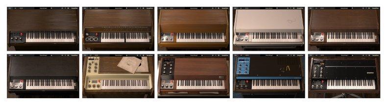 IK Multimedia sampletron 2 gui instruments