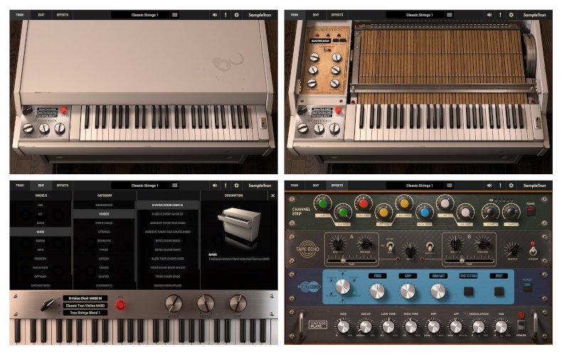 IK Multimedia sampletron 2 gui main