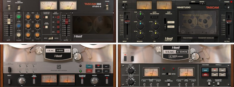 t-racks tascam tape collection 2