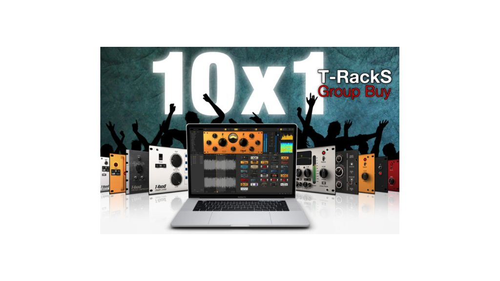 IK Multimedia T-RackS Group Buy: Ten Plug-ins For The Price Of One