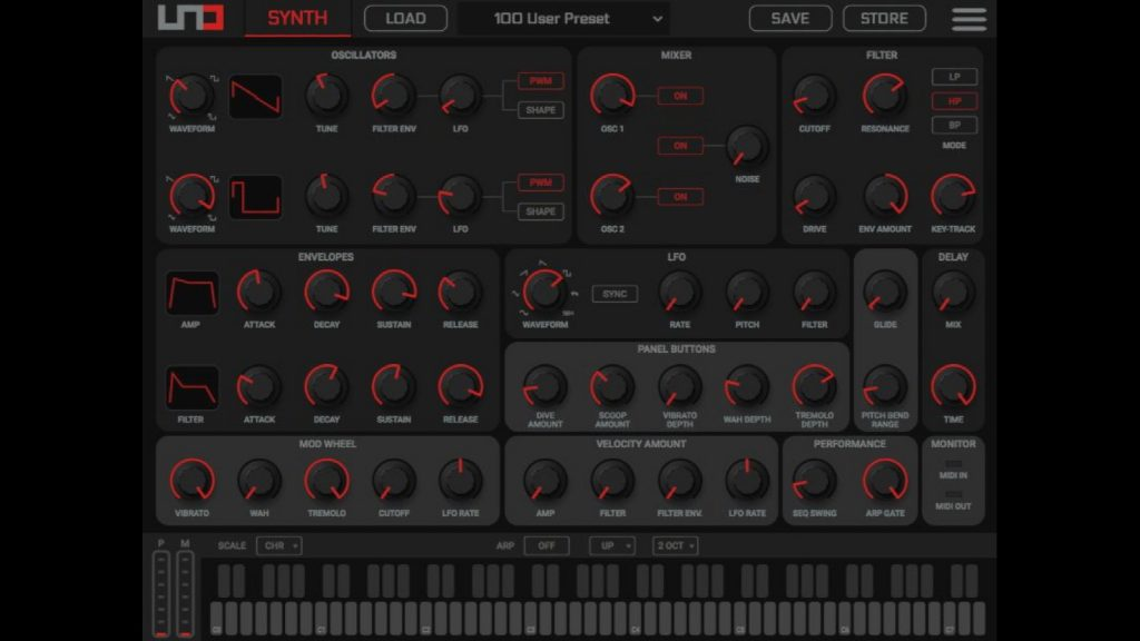 IK Multimedia Releases UNO Synth Editor