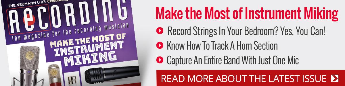 Recording Magazine: The Magazine For the Recording Musician