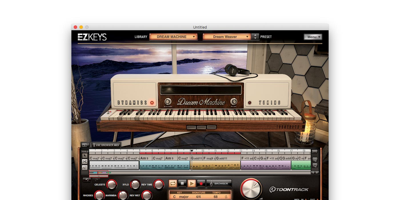 Toontrack EZKeys Dream Machine Melancholic Pop