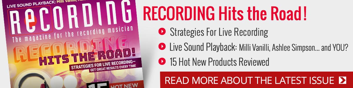 Recording Magazine: The Magazine For the Recording Musician