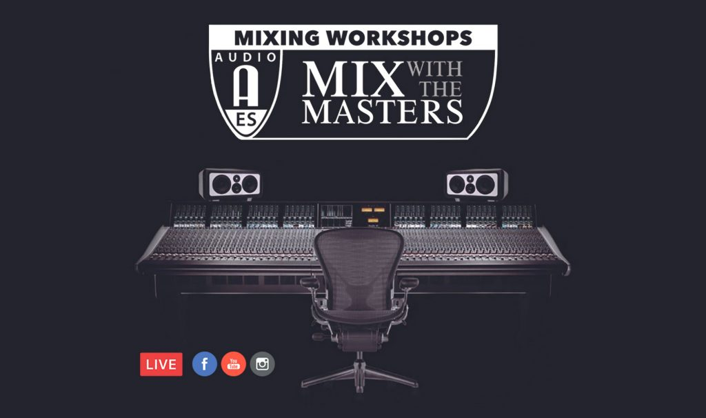 AES MWTM Mixing Workshops in NYC!