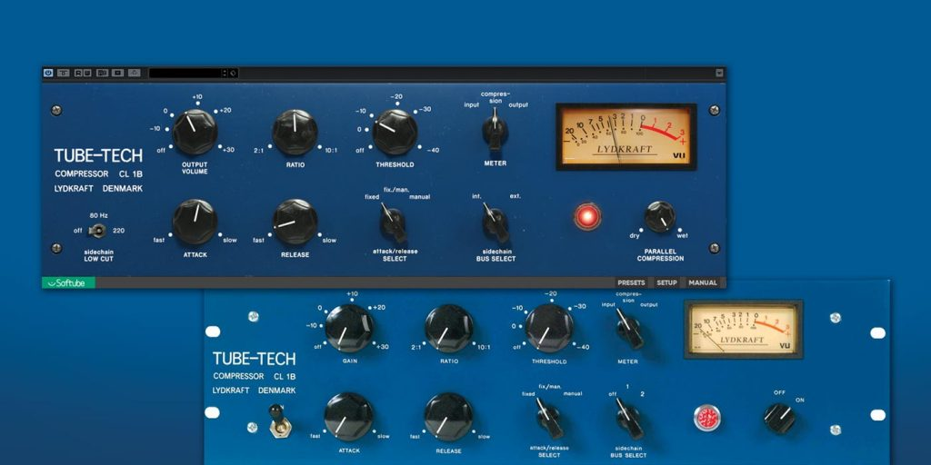 Softube Tube-Tech CL 1B Mk II Plug-in