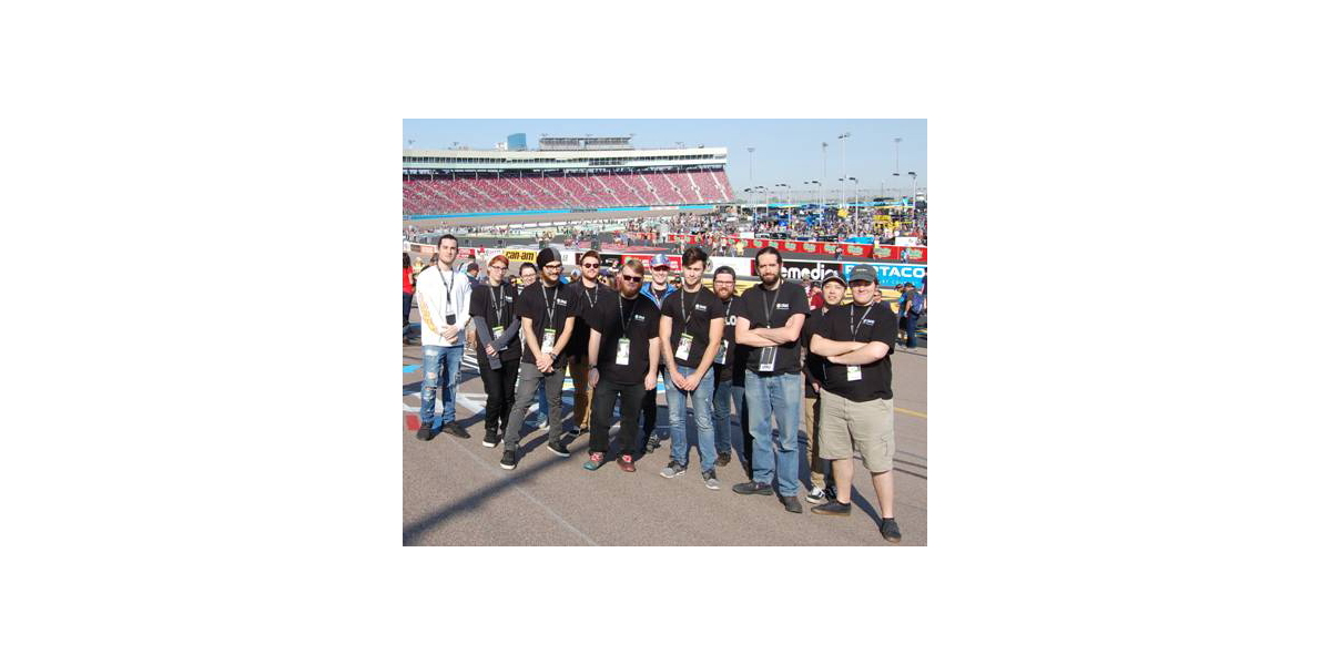 CRAS Students Train On-Site in Real Time During Live NASCAR Race