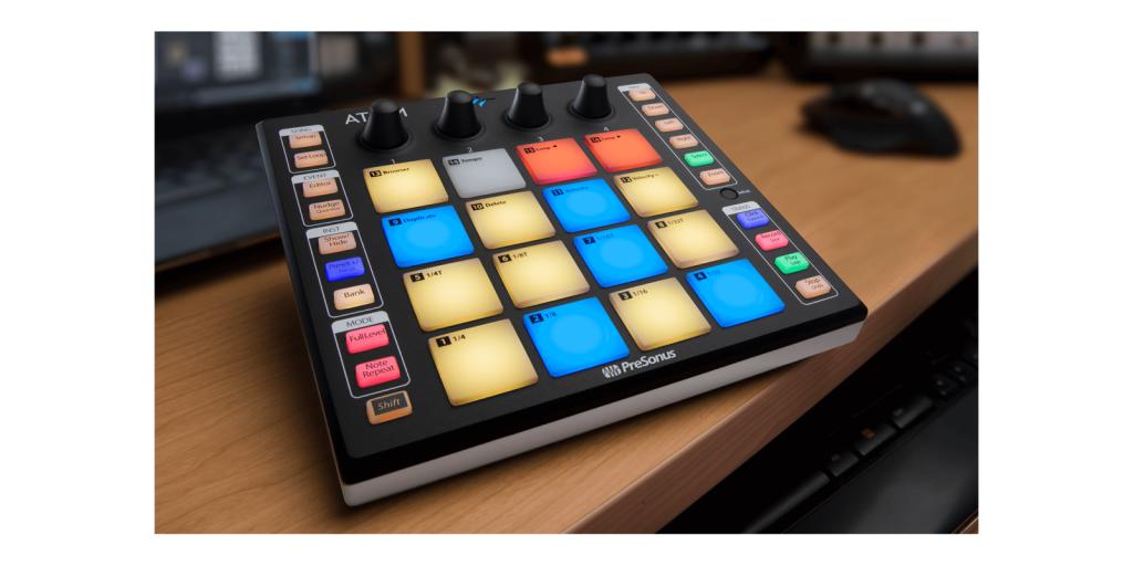PreSonus Releases New ATOM Tabletop Controller