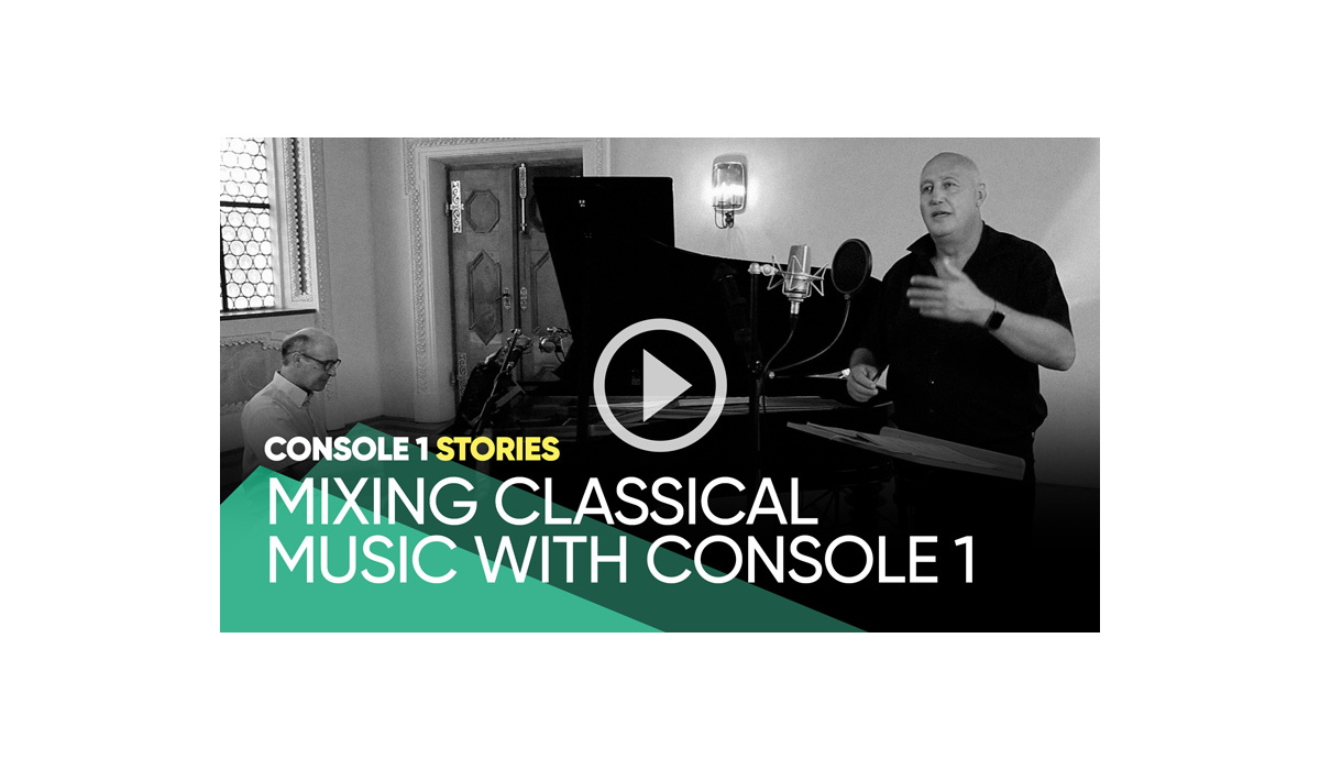 """Softube Launches """"Console 1 Stories"""" Video Series"""