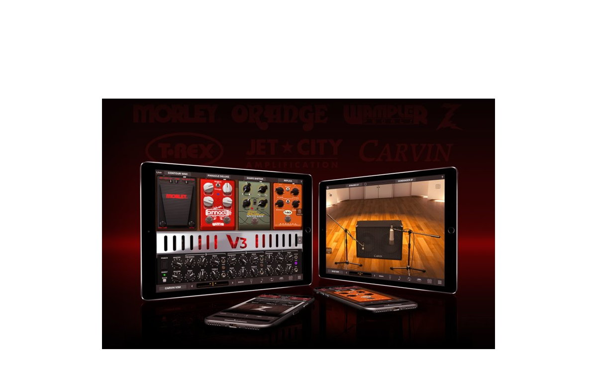 IK Multimedia Adds 10 New Models For AmpliTube for iPhone and iPad