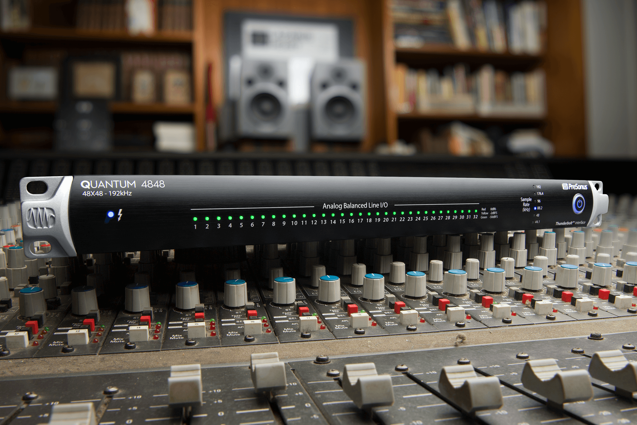 PreSonus Ships Quantum 4848 Professional Recording Audio Interface