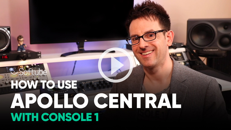 How To Use Apollo Central With Softube Console 1