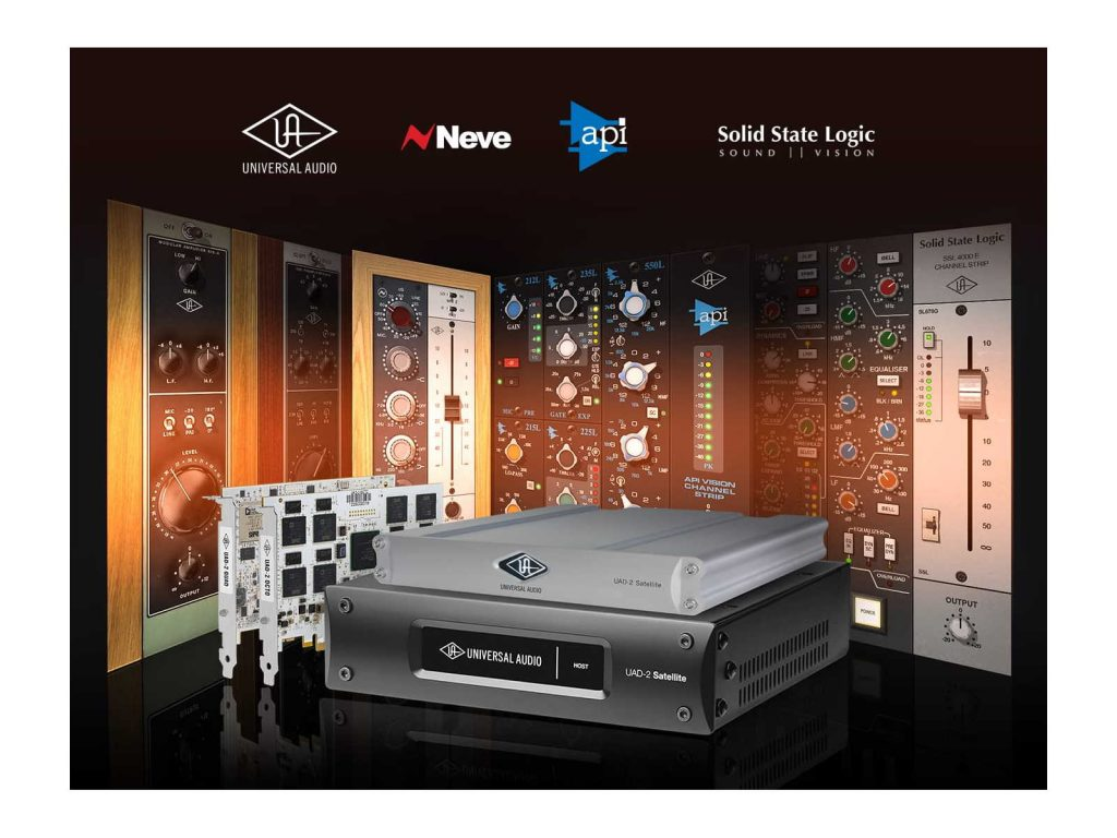 Universal Audio Offers Classic Console Plug-Ins Promo