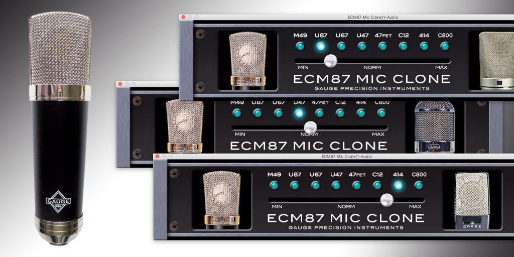 Gauge Precision Instruments ECM-87 Virtual Mic Locker